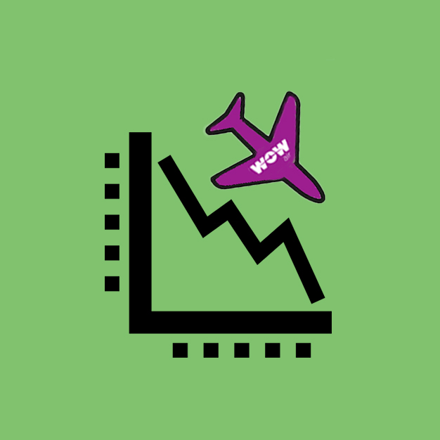 Wow Air Collapse Commercial Awareness Icon