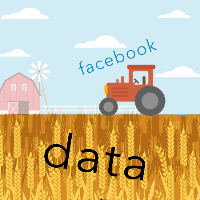 Facebook data harvest icon