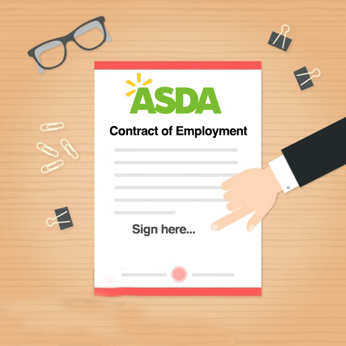 Save Money, Work Harder, the Smart Price Guarantee: Asda pressures staff to sign new contracts reducing flexible working