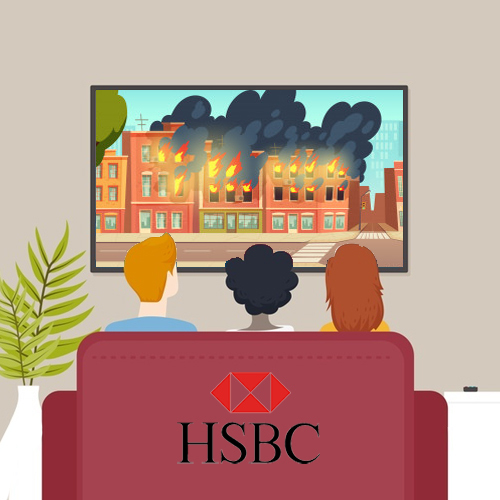 How could I ever repay You? HSBC to put aside £8.8bn to cover bad debts