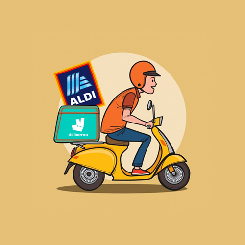 Joint-Venturing into the Gig Economy: Aldi Partners with Deliveroo to deliver groceries