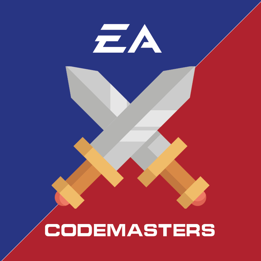 First To The Finish Line: EA and Take-Two Interactive race to complete the acquisition of Codemasters