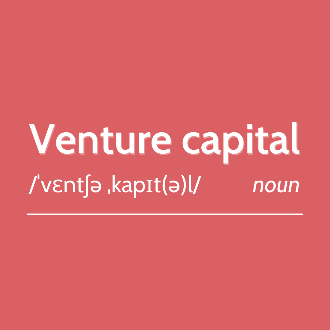 """What is a """"venture capital""""?"""